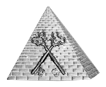 Treasurer Shriner Masonic Officer Jewel - [Two Tone] - RSG-7