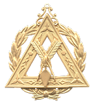 Grand Recorder Grand Council Royal & Select Masonic Officer Jewel - RSM-24