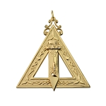 Conductor of Work Royal & Select Masonic Officer Jewel - RSM-3
