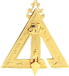 Prince Hall Conductor of Work Royal & Select Masonic Officer Jewel - RSM-3-CO