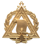 Prince Hall Grand Lecturer Grand Council Royal & Select Masonic Officer Jewel - RSM-32-CO
