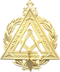 Prince Hall Grand Illustrious Master Grand Council Royal & Select Masonic Officer Jewel - RSM-33-CO