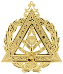Grand Illustrious Past Master Grand Council Royal & Select Masonic Officer Jewel - RSM-38