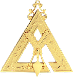 Prince Hall Recorder Royal & Select Masonic Officer Jewel - RSM-4-CO