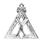 Recorder Royal & Select Masonic Officer Jewel - RSM-4