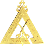 Prince Hall Sentinel Royal & Select Masonic Officer Jewel - RSM-7-CO