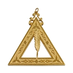 Secretary 14th Degree Scottish Rite Officer Jewel - [Gold] - RSR-13