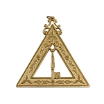 Treasurer 14th Degree Scottish Rite Officer Jewel - [Gold] - RSR-16