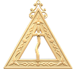 Tyler 14th Degree Scottish Rite Officer Jewel - [Gold] - RSR-18