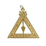 Senior Warden 14th Degree Scottish Rite Officer Jewel - [Gold] - RSR-19