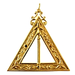 Captain of the Guard 14th Degree Scottish Rite Officer Jewel - [Gold] - RSR-20
