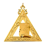Orator 14th Degree Scottish Rite Officer Jewel - [Gold] - RSR-22