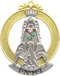 Most Wise Master 18th Degree Scottish Rite Officer Jewel - [Two Tone] - RSR-33