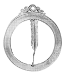 Secretary 18th Degree Scottish Rite Officer Jewel - [Gold] - RSR-34