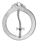 Tyler 18th Degree Scottish Rite Officer Jewel - [Gold] - RSR-38