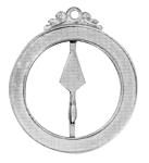 Senior Warden 18th Degree Scottish Rite Officer Jewel - [Gold] - RSR-42