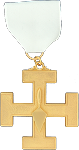 First Lieutenant Commander 32nd Degree Scottish Rite Officer Jewel - [Gold] - RSR-44