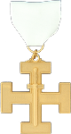 Second Lieutenant Commander 32nd Degree Scottish Rite Officer Jewel - [Gold] - RSR-45