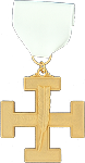 Secretary 32nd Degree Scottish Rite Officer Jewel - [Gold] - RSR-49