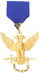 Double Headed Eagle 32nd Degree Scottish Rite Breast Jewel - [Gold] - RSR-5