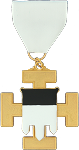 Standard Bearer 32nd Degree Scottish Rite Officer Jewel - [Gold] - RSR-53