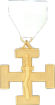 Sentinel 32nd Degree Scottish Rite Officer Jewel - [Gold] - RSR-55