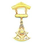 Past Master Masonic Breast Jewel - HOMJ3119