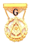 Past Master Masonic Breast Jewel - HOMJ4019