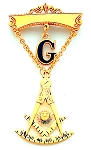 Past Master Masonic Breast Jewel - HOMJ4765