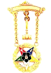 Order of the Eastern Star Masonic Breast Jewel - HOMJ6358
