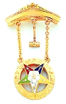 Order of the Eastern Star Masonic Breast Jewel - HOMJ6364