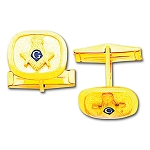 Blue Lodge Masonic Cufflink Pair - MAS1502CL