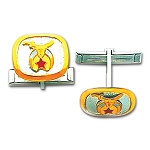 Shriner Masonic Cufflink Pair - MAS1502SHCL