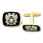 Scottish Rite Masonic Cufflink Pair - MAS1564CL