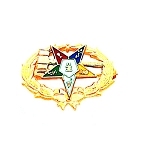 Order of the Eastern Star Masonic Lapel Pin - HOM3887P