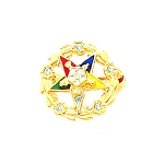 Order of the Eastern Star Masonic Lapel Pin - HOM63405SP