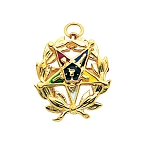 Order of the Eastern Star Masonic Pendant or Pin - MAS101ES