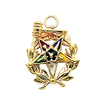 Order of the Eastern Star Masonic Pendant or Pin - MAS101PM
