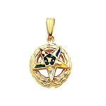 Order of the Eastern Star Masonic Pendant or Pin - MAS107ES