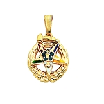 Order of the Eastern Star Masonic Pendant or Pin - MAS107PM