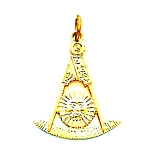 Past Master Masonic Pendant - MAS16104PM