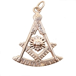 Past Master Masonic Pendant - MAS16105PM