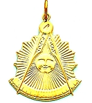 Past Master Masonic Pendant - MAS16106PM