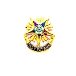 Order of the Eastern Star Masonic Tie Tac - GLC112PPT