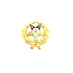 Order of the Eastern Star Masonic Tie Tac - HOM3226T