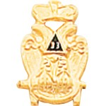 Scottish Rite Masonic Tie Tac - HOM4317T
