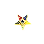 Order of the Eastern Star Masonic Tie Tac - HOM5718T
