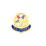 Order of the Eastern Star Masonic Lapel Pin - HOM6448T