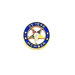 Order of the Eastern Star Masonic Lapel Pin - HOM6479T