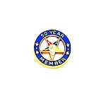 Order of the Eastern Star Masonic Lapel Pin - HOM6480T